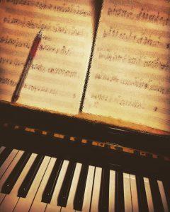 そうだ 楽譜、書こう。   姫路  ピアノ  レッスン